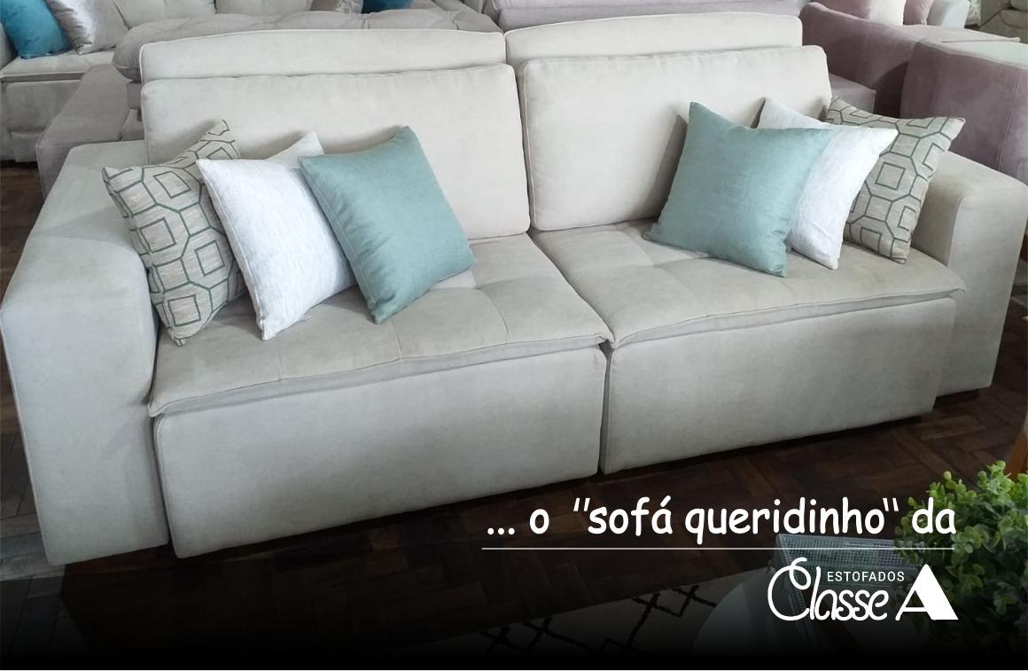 O sofá é o queridinho de todas as salas!